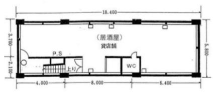 新橋駅徒歩2分 B1F 駅至近!居酒屋居抜き店舗物件(30741)【何業も可】 画像1