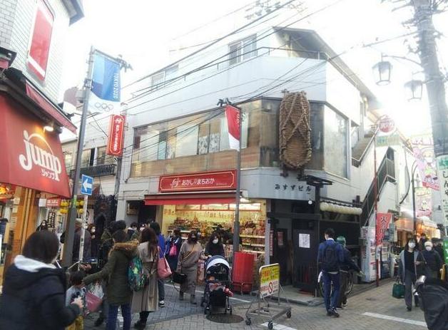 高円寺駅徒歩3分 B1F 純情商店街!専用階段有!店舗物件(35178)【飲食可】外観