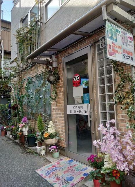 浅草駅徒歩3分 1F 路地裏のカフェ居抜き店舗物件(35243)【軽飲食可】外観