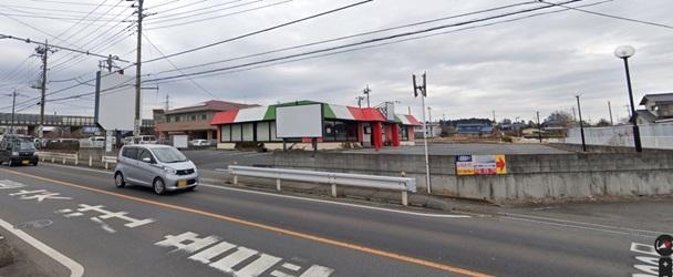 仏子駅ロードサイド 1F 国道299号沿いのレストラン居抜き店舗(35311)【重飲食可】外観