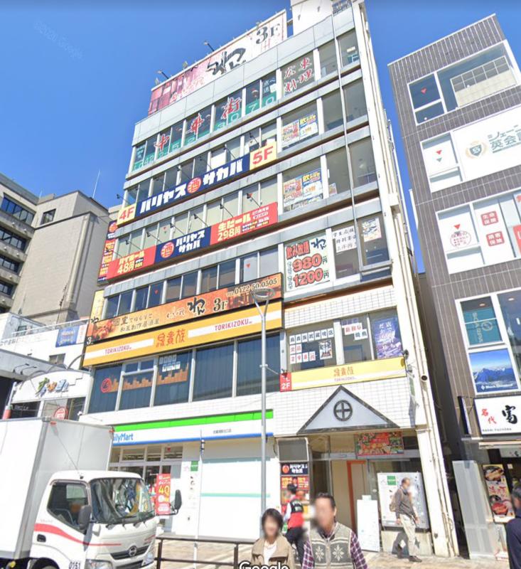 武蔵境駅 徒歩1分 スケルトン物件 【飲食・物販・サービス可】外観