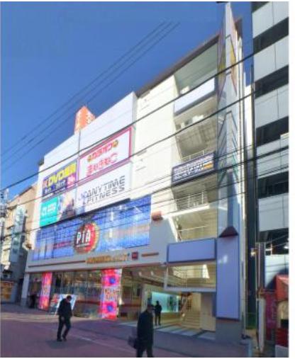 町田駅 徒歩4分 スケルトン物件 【医療系テナント】外観