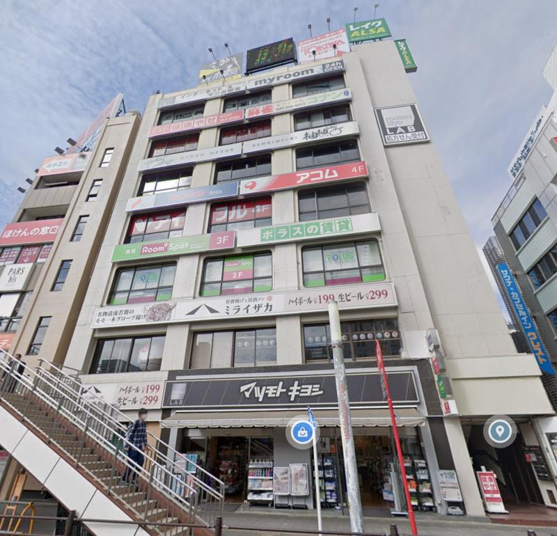 松戸駅 徒歩1分 スケルトン物件 【風俗フィットネスインターネットカフェ不可】外観
