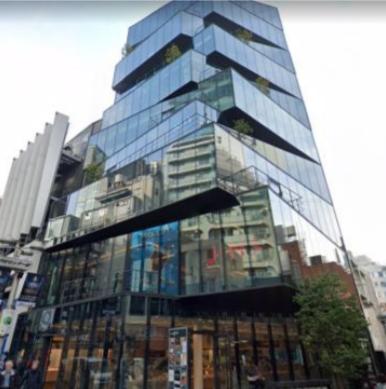 渋谷駅徒歩5分 B1F 角地!現況物販の店舗物件【飲食不可(食物販相談)】外観