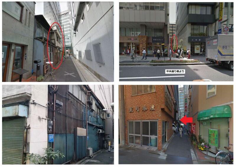 【建築計画】『新日本橋』駅 徒歩1分 平屋建て43.77坪外観