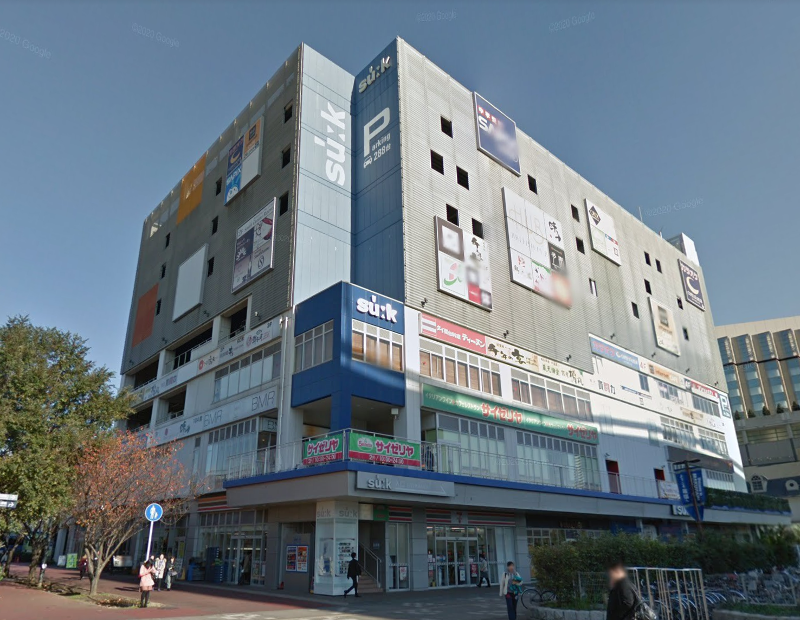 海浜幕張駅 徒歩1分 スケルトン物件 【業種相談】外観