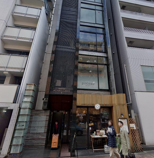 麻布十番駅 徒歩5分 店舗物件 【飲食可】外観