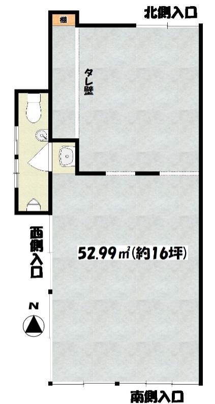 小平駅 徒歩1分 駅至近!路面店舗物件 【飲食可】 画像1
