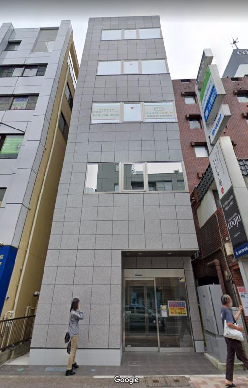 川越駅 徒歩4分 スケルトン物件 【業種相談】外観