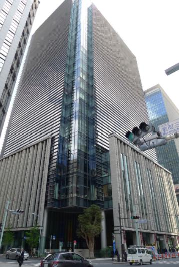 新日本橋駅 徒歩3分 3F 駅地下通路直結! 高層オフィスビルの店舗区画【飲食可】外観