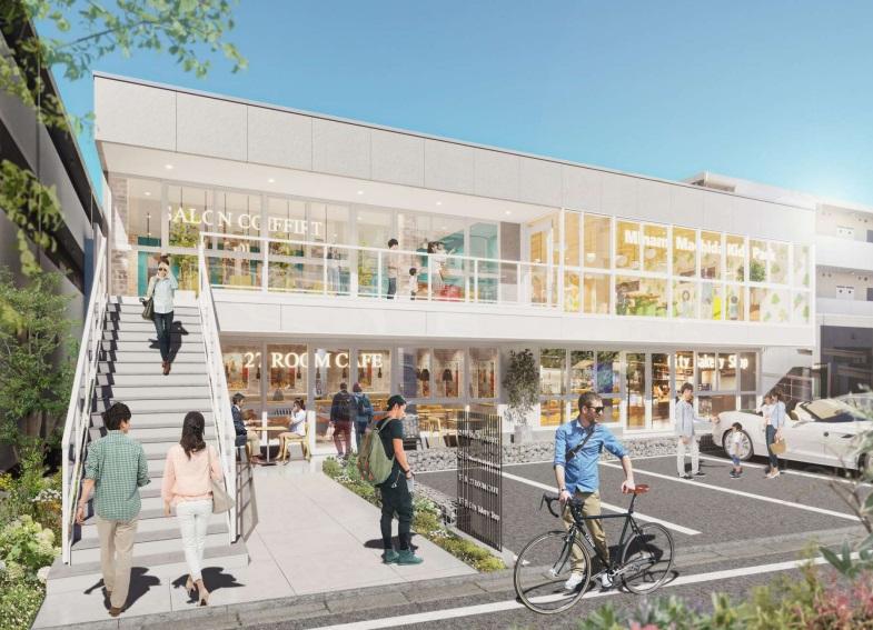 南町田グランベリーパーク駅 徒歩1分 2021年8月末竣工予定!駅至近店舗物件 【飲食可】外観