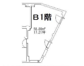 JR渋谷駅 徒歩2分 田園都市線A0出口から70m 道玄坂小路角地 地下1階 【何業も可】 画像1