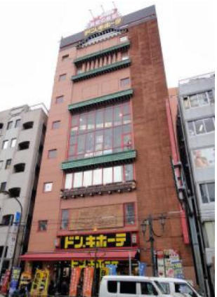 【上野駅 徒歩10分 5F   繁華街の店舗区画【飲食不可】】