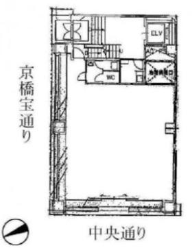 東京駅 徒歩7分 中央通り沿い!角地の店舗物件 【業種相談】 画像1