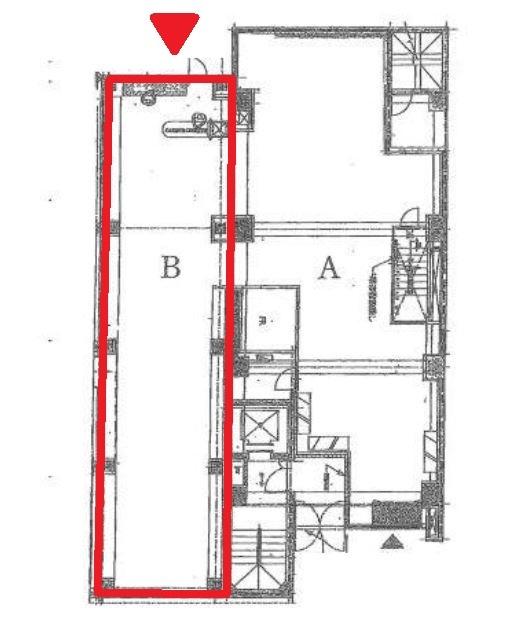 渋谷駅と明治神宮前〈原宿〉駅のほぼ中間  明治通りに面した1階店舗 スケルトン 【業種相談】 画像1