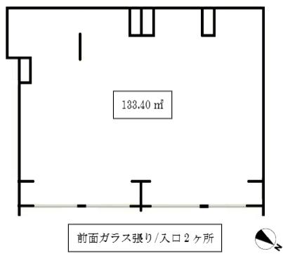 外苑前駅 徒歩7分 路面店舗物件 【軽飲食程度相談】 画像1