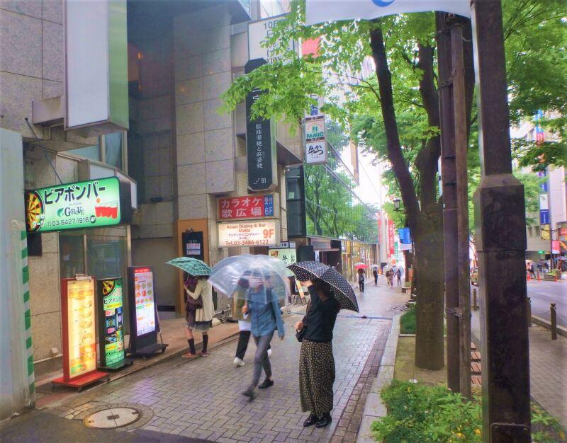 渋谷駅 徒歩3分 宮益坂の途中にある飲食可能物件 対面は渋谷郵便局でわかりやすい立地 スケルトン1~2階一括物件 画像3