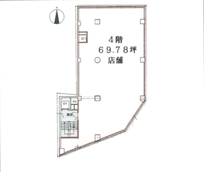 新宿駅 徒歩1分 スケルトン物件 【何業も可】 画像0