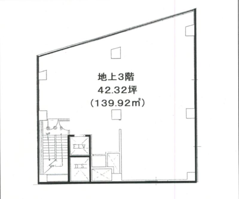 新橋駅 徒歩4分 スケルトン物件 【飲食可】 画像0
