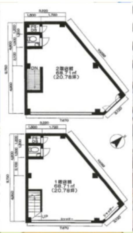 田町駅 徒歩3分 スケルトン物件 【飲食可】 画像1