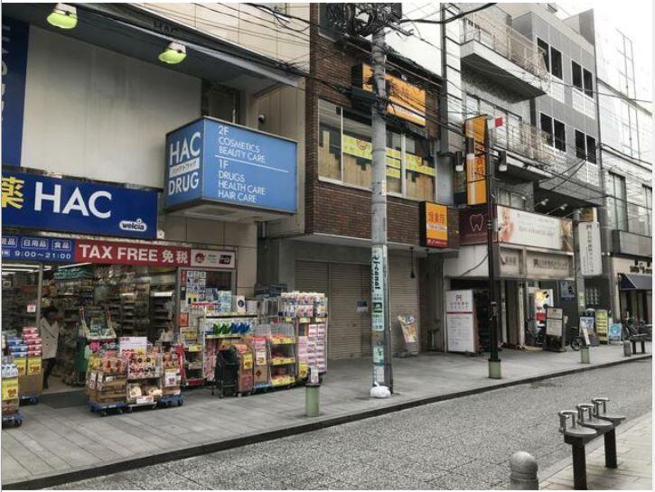 【石川町駅 徒歩2分 アイキャナルストリート(石川町商店街)3階店舗 スケルトン物件 【飲食可】】