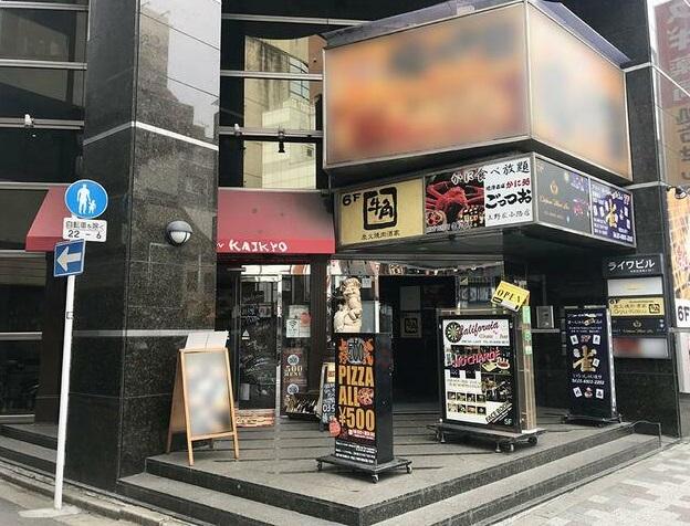 御徒町駅 徒歩4分 バル居抜きの一括貸し店舗物件 【飲食可】外観