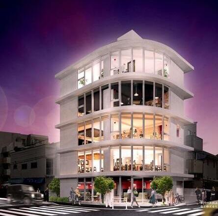 【尾山台駅 徒歩5分 2021年10月竣工予定!角地の新築店舗物件 【飲食可】】