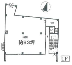 平塚駅 徒歩1分 駅至近!店舗物件 【飲食可】 画像1