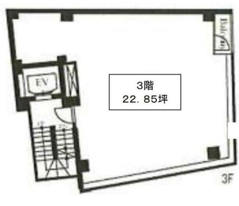 東横線 中目黒駅 徒歩6分 スケルトン物件 【飲食可】 画像1