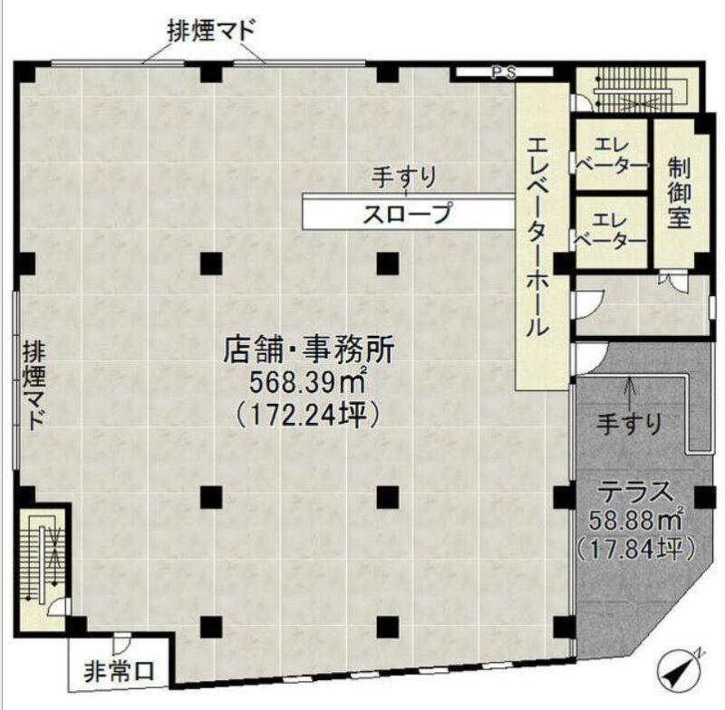 小田急線・JR暗部線 登戸駅 徒歩1分 1,2階はパチンコ・スロットのアミューズメントビル 築後未入居【飲食可】 画像1
