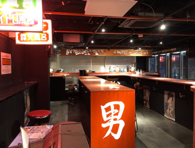 新橋駅 徒歩2分 現況:ガールズバー 裏コリドー2階の居抜き物件 【何業も可】 画像2