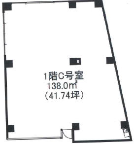 荻窪駅 徒歩5分 スケルトン物件 【飲食不可】 画像1