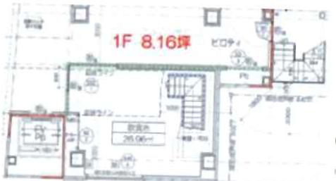東銀座駅 徒歩1分 スケルトン物件 【飲食不可】 画像3