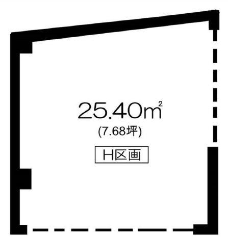 東横線 大倉山駅 徒歩2分 マンションの1階にある スケルトン物件 【飲食不可】 画像1