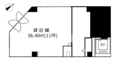 虎ノ門ヒルズ駅 徒歩1分 スケルトン物件 【飲食可】 画像1