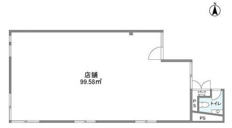 東横線・大井町線 自由が丘駅 徒歩5分 学園通りにあるデザインビル2階スケルトン【飲食不可】 画像1