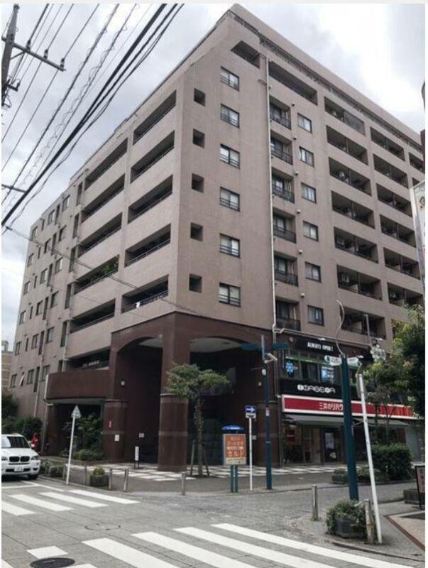東横線綱島駅 徒歩2分 商店が多く連なる商店街にある2階店舗 上層階はマンション スケルトン 【軽飲食程度応相談】 画像0
