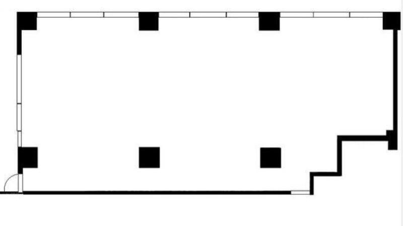 東横線綱島駅 徒歩2分 商店が多く連なる商店街にある2階店舗 上層階はマンション スケルトン 【軽飲食程度応相談】 画像1