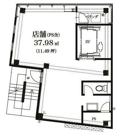 駒込駅 徒歩2分 5F 駅近!前面ガラス張りの店舗物件 【飲食可】 画像1
