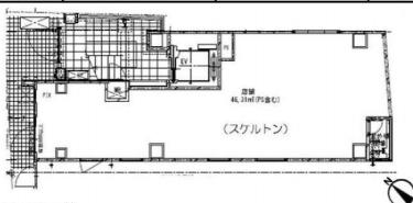 麹町駅 徒歩2分 スケルトン物件 【飲食相談】 画像1