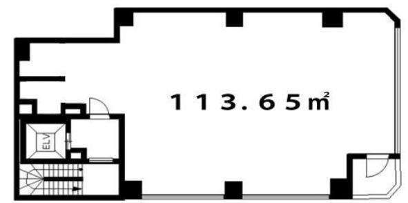 市ケ谷駅 徒歩3分 スケルトン物件 【飲食可】 画像1