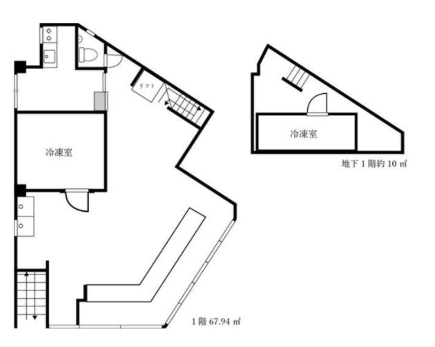 東向島駅 徒歩3分 スケルトン物件 【飲食可】 画像1