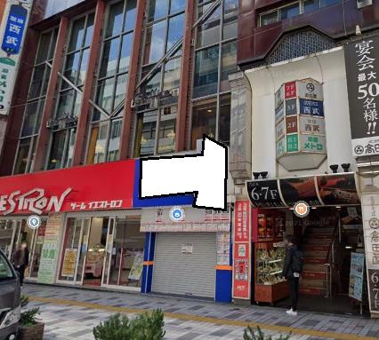 新宿駅 徒歩1分 駅至近!路面店舗物件 【飲食不可】 画像0