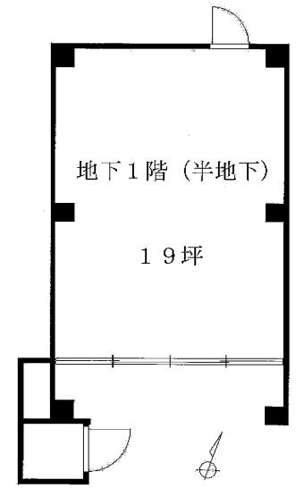 代官山駅 徒歩6分 半地下の店舗物件 【飲食相談】 画像1