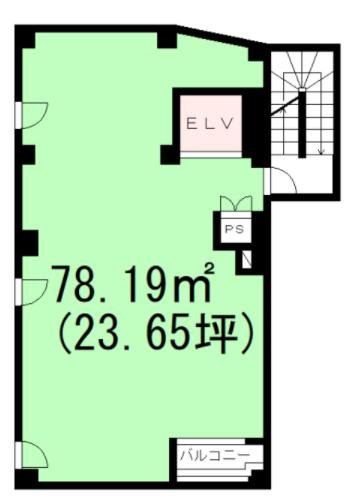 広尾駅 徒歩5分 スケルトン物件 【業種相談】 画像1