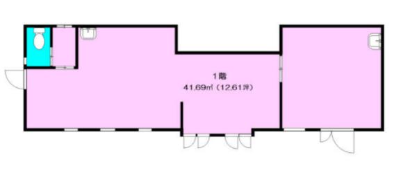 与野駅 徒歩2分 現況:食物販 飲食居抜き物件 【飲食可】 画像1