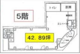 錦糸町駅 徒歩3分 スケルトン物件 【飲食可】 画像1