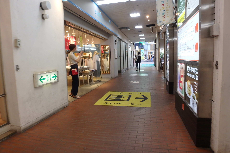 吉祥寺駅 徒歩2分 商業ビルの中にある1階店舗 女性向け物販店舗好適 スケルトン 【飲食不可(食物販相談)】 画像6