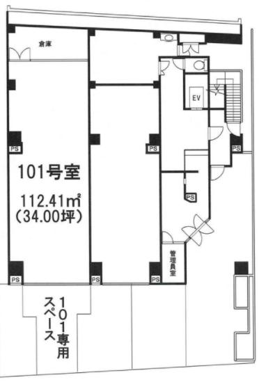 大森駅 徒歩3分 スケルトン物件 【業種相談】 画像1