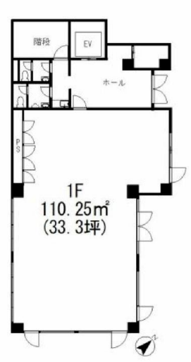 代々木駅 徒歩6分 スケルトン物件 【業種相談】 画像1